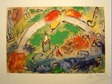 Jésus et les « happy few » : une autre mondialisation est possible dans Communauté spirituelle Noe_arcenciel_chagall
